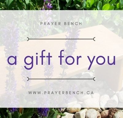 Prayer Bench Gift Card